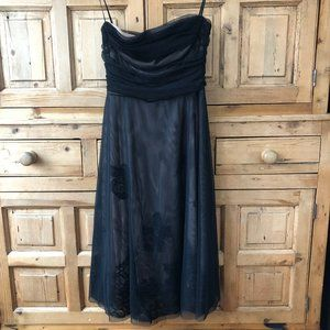 Strapless BCBG Maxazria Tulle Dress 10